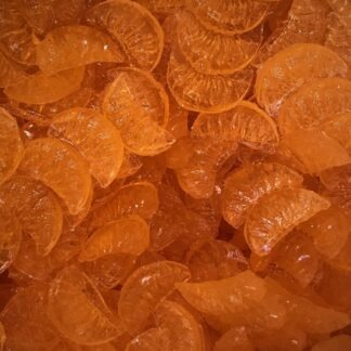 Bonbons durs à la mandarine