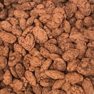 Amandes enrobées de chocolat noir 1